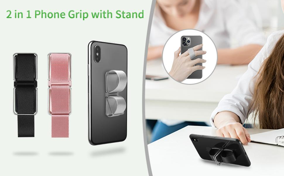 Senose Phone Grip Combines The Phone Strap And Cell Phone Stand, Help You Enjoy Your Life Time!