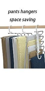 pants hangers space saving