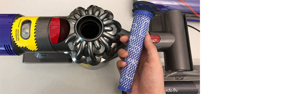dyson v8 absolute filter
