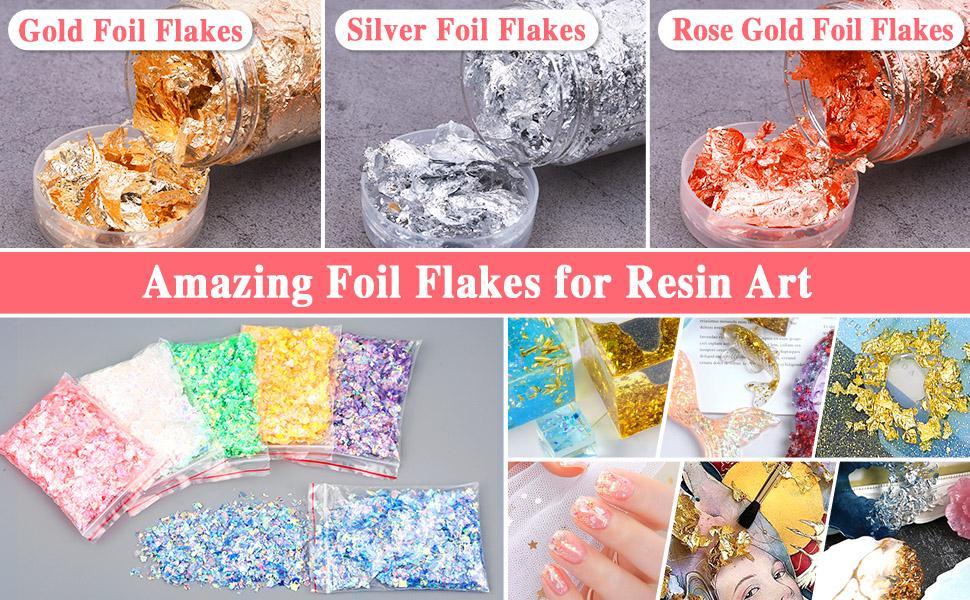 Resin Flakes