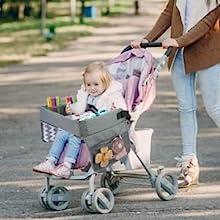 Lil Tots Gear Travel Tray Stroller