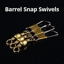 Barrel Snap Swivels