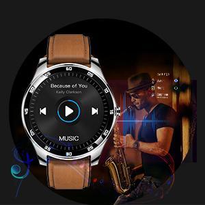 Rogbid GT Smart Watch Fitness Tracker music player