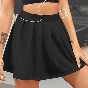 High Waisted Tennis Skirt