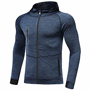blue work sweatshirt