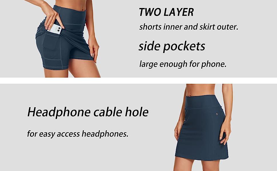 running skirt,womens skorts for summer casual,active wear skirts for women,gym skirts women