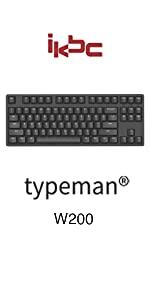 ikbc w200 wireless mechanical keyboard