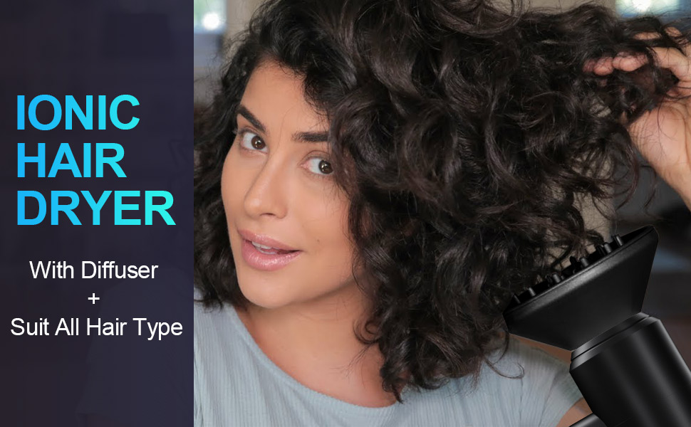 ionic hair dryer for all hair type