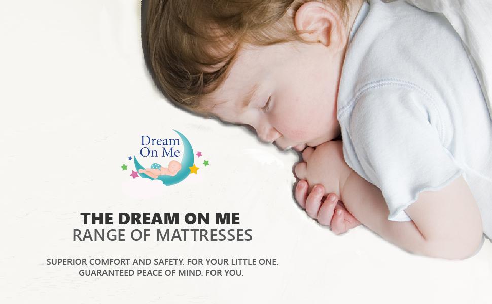 dream on me range of mattress