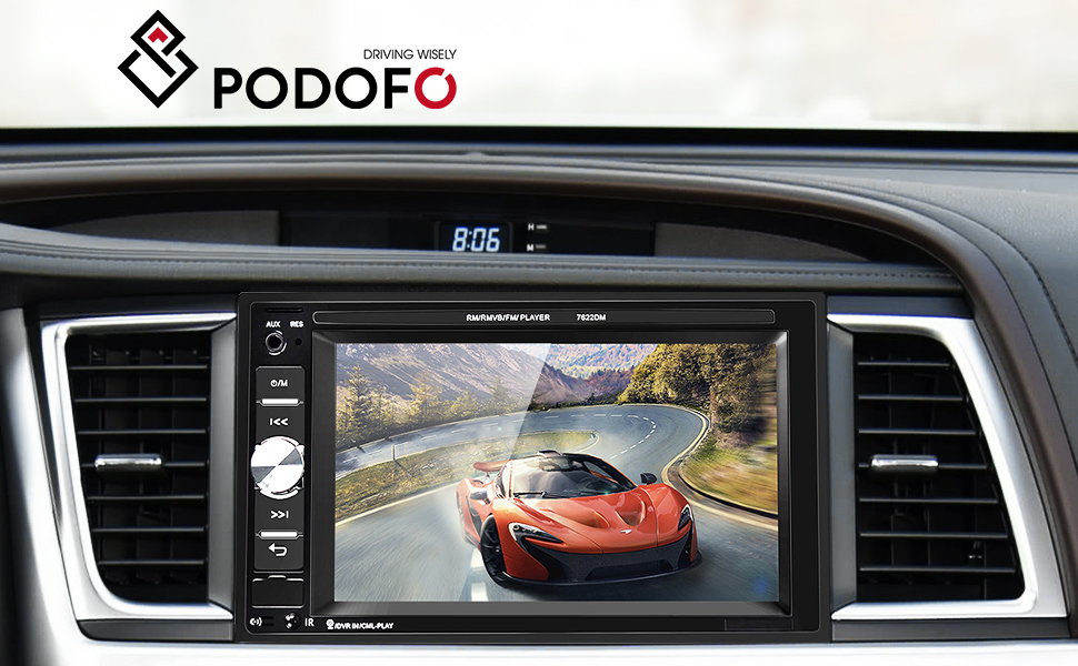 car stereo with bluetooth