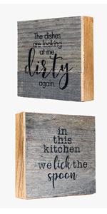funny kitchen sign wood kitchen decor box signs cute signs for kitchen farmhouse signs for kitchen