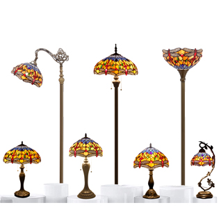 Tiffany Lamp S168 Series