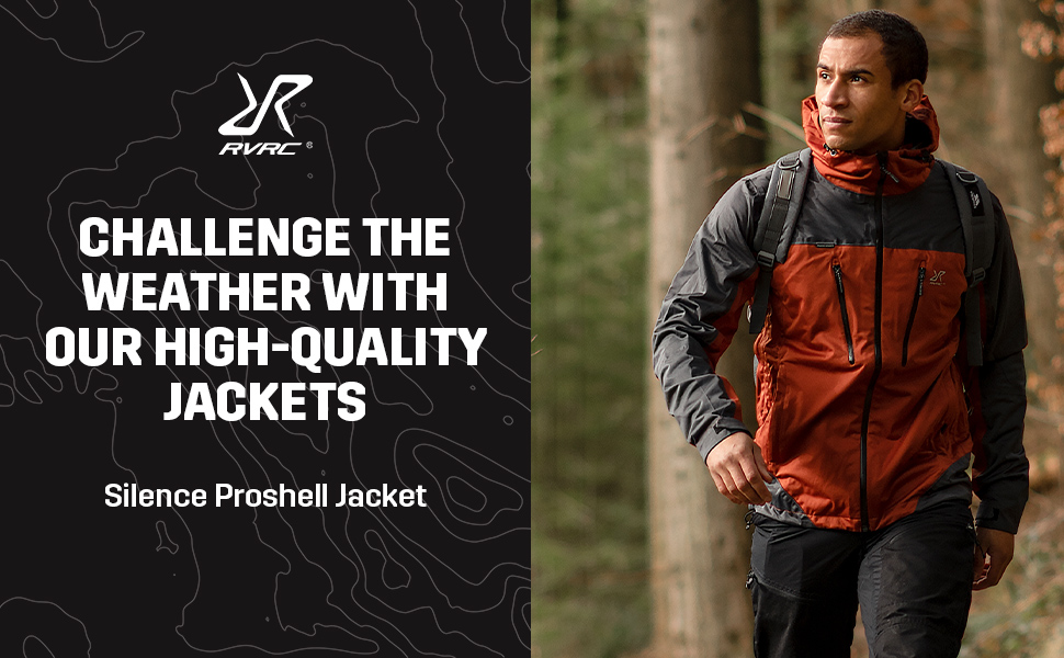 Silence Proshell Jacket Rusty Orange - Challenge the weather with our high-quality jackets.