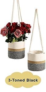 hanging basket for plants plant holders indoor hanging