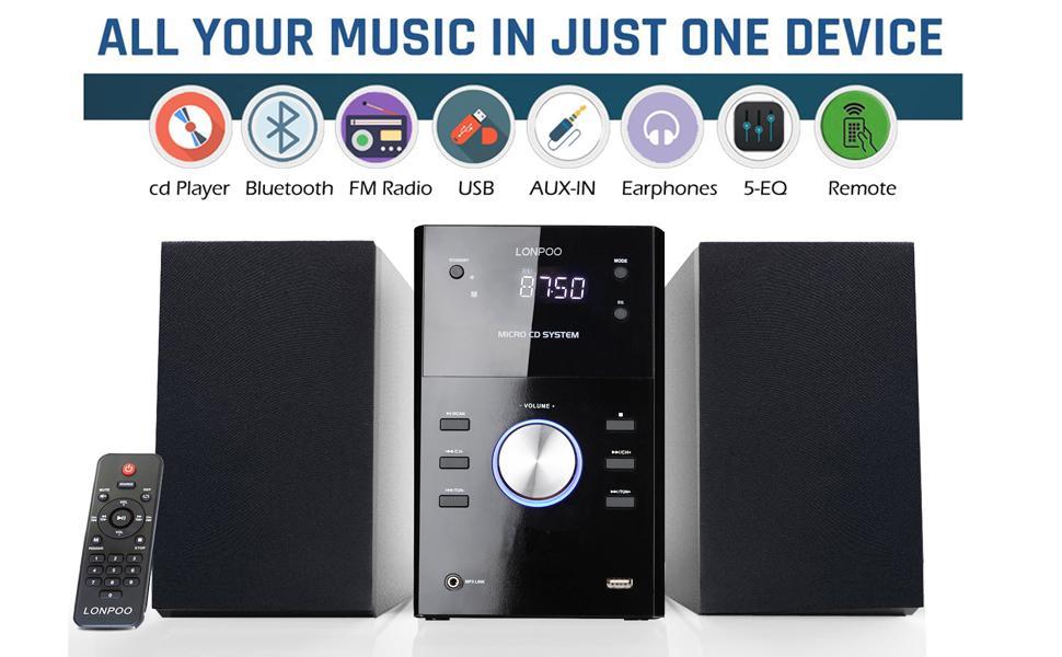 lp-808 stereo