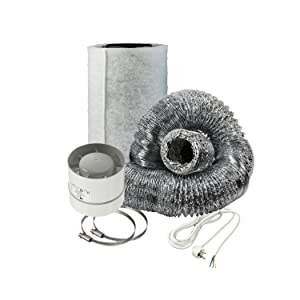 Cultivalley mini-airconditioningset, 105 m³/h