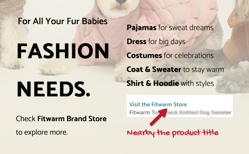 fitwarm small girl boy dog clothes sweater dress pajamas hoodie costumes coat dress shirt cat pet