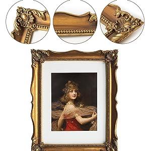 bronze vintage frame