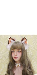 cosplay big ears brown black
