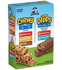 dipps chocolate covered granola bars