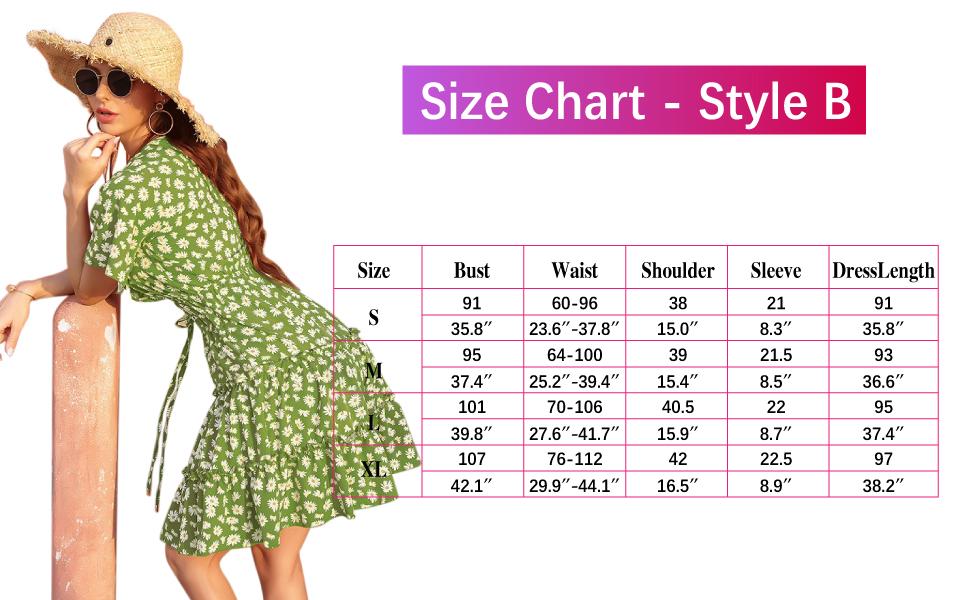 size chart b