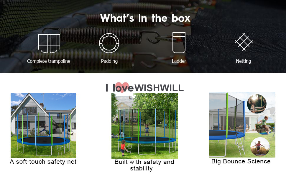 WISHWILL Trampoline