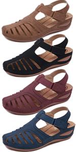 Boheimian Vintage Wedge Sandals