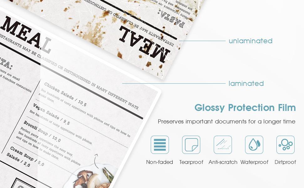 laminator protect documents