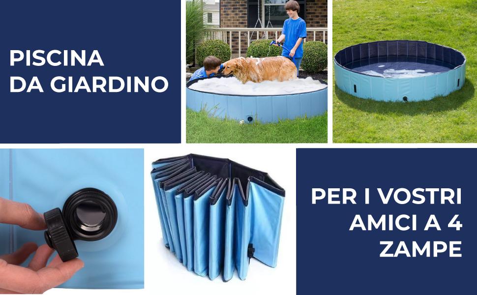 Pool Piscina Vasca in PLASTICA