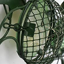 solar frog decorative garden stakes has a metal buckle, which can be opened and closed