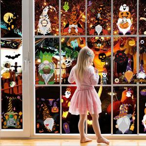 Halloween Window Clings Glass Decal