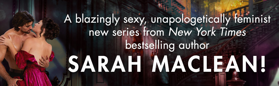 Bombshell Sarah MacLean NYT Bestselling Author
