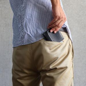 ポケットの中で、究極に快適