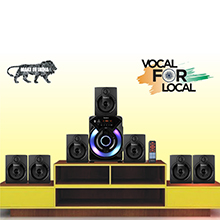 THE ULTIMATE HOME THEATER EXPERIENCE - Our 7.1 speaker system includes 7 speakers and 1 subwoofer