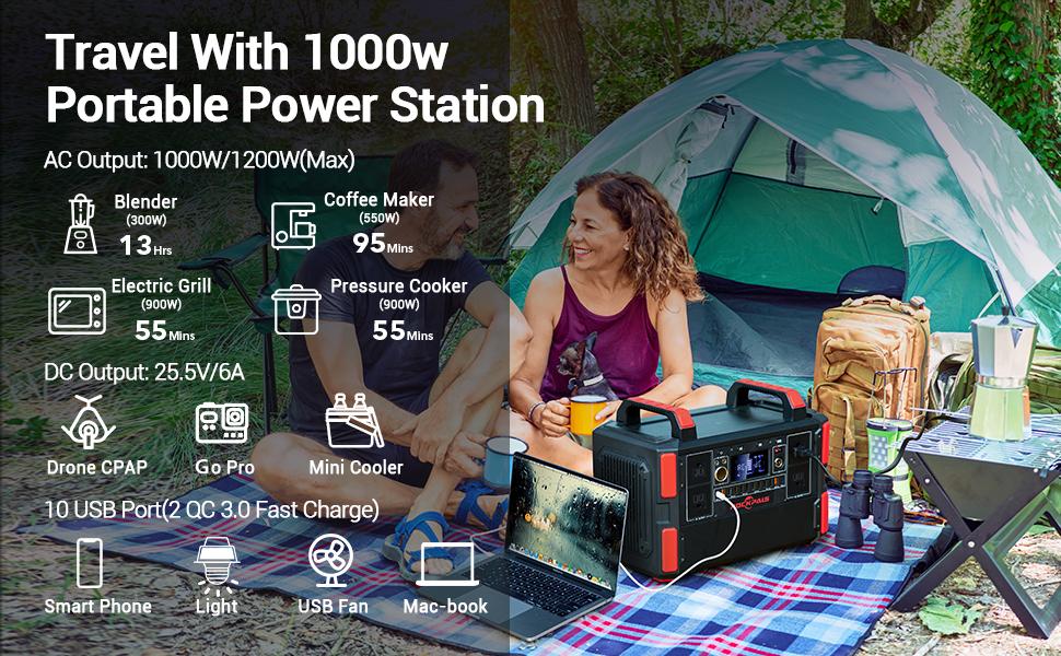 327600mAh Solar Generator