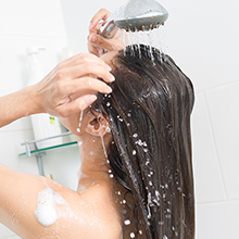 hard water filter for shower head