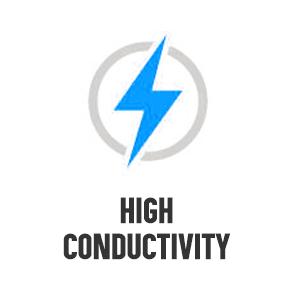 High conductivity