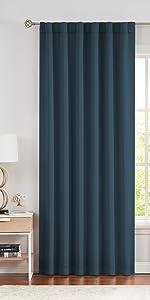 Blue Soild Blackout Curtains