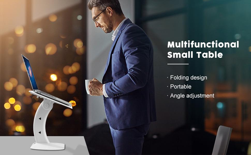 Multifunctional lap desk amp; laptop bed tray