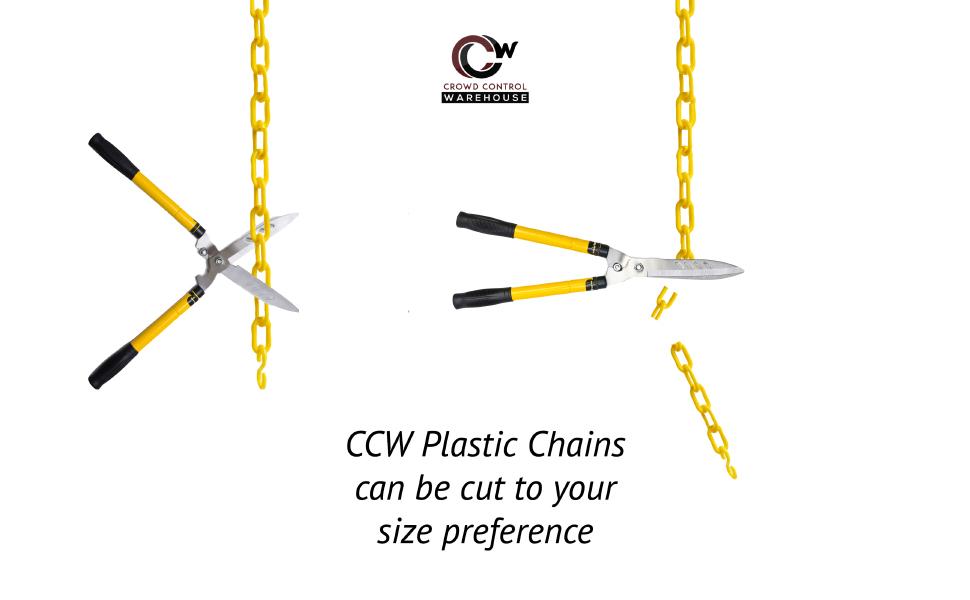 chain cut scissors