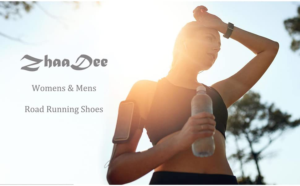 ZhaaDee Mens Womens Road Running Shoes Athletic Walking Tennis Shoes Fashion Sneakers