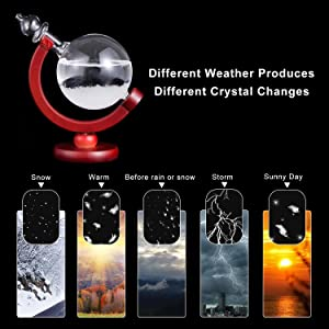 Globe Storm Glass
