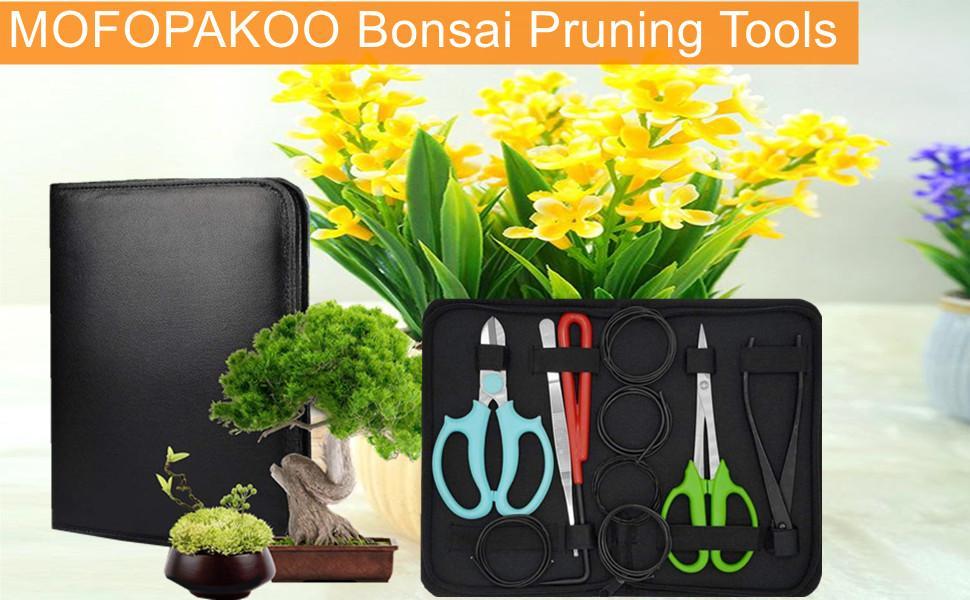 MOFOPAKOO Bonsai Tool Set--Gardening helper, let your garden flowers in full bloom!