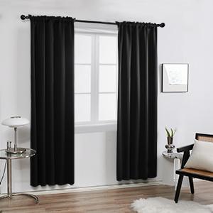 Deconovo rod pocket curtains