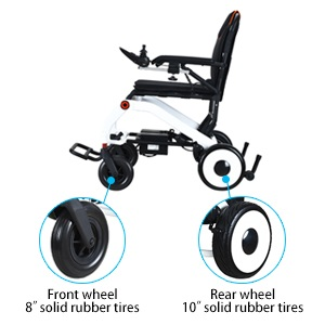 Electric wheelchair tires
