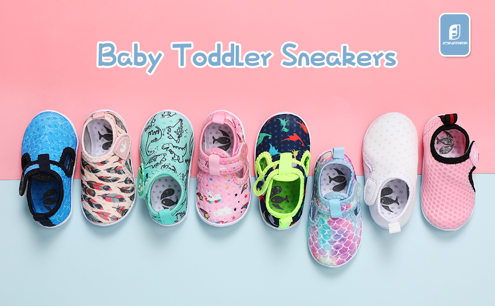 baby sneakers for boys and girls breathable walking shoes for toddler slip on shoes