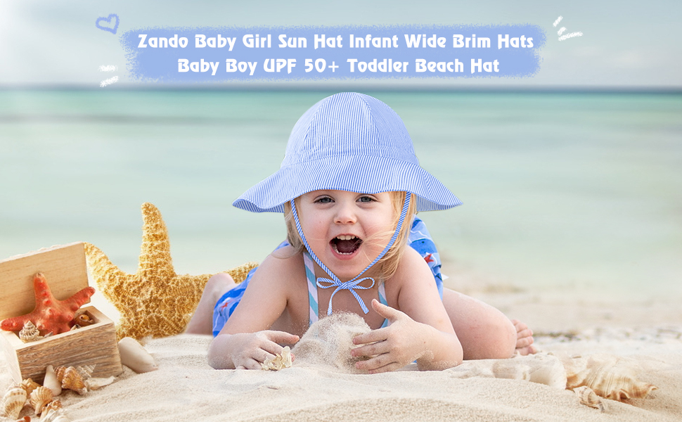 Zando baby sun hat