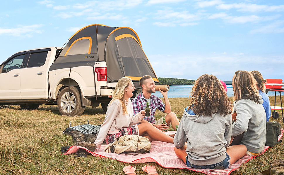 JOYTUTUS pickup truck tent waterproof