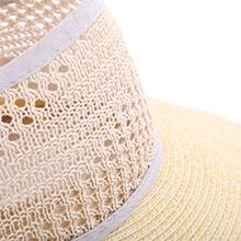 Sombreros de Paja Con Ala Ancha