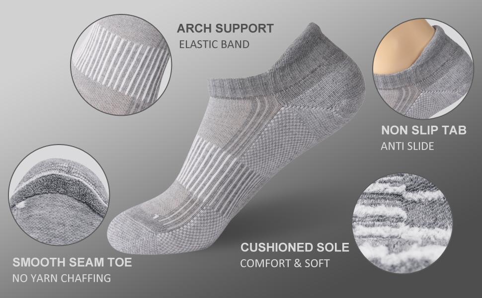Detail Display of FOOTPLUS Copper Socks